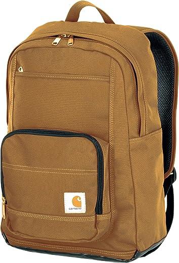 حقيبة ظهر كارهارت ليجاسي كلاسيك العمل مع حافظة مبطنة للكمبيوتر المحمول، بني داكن