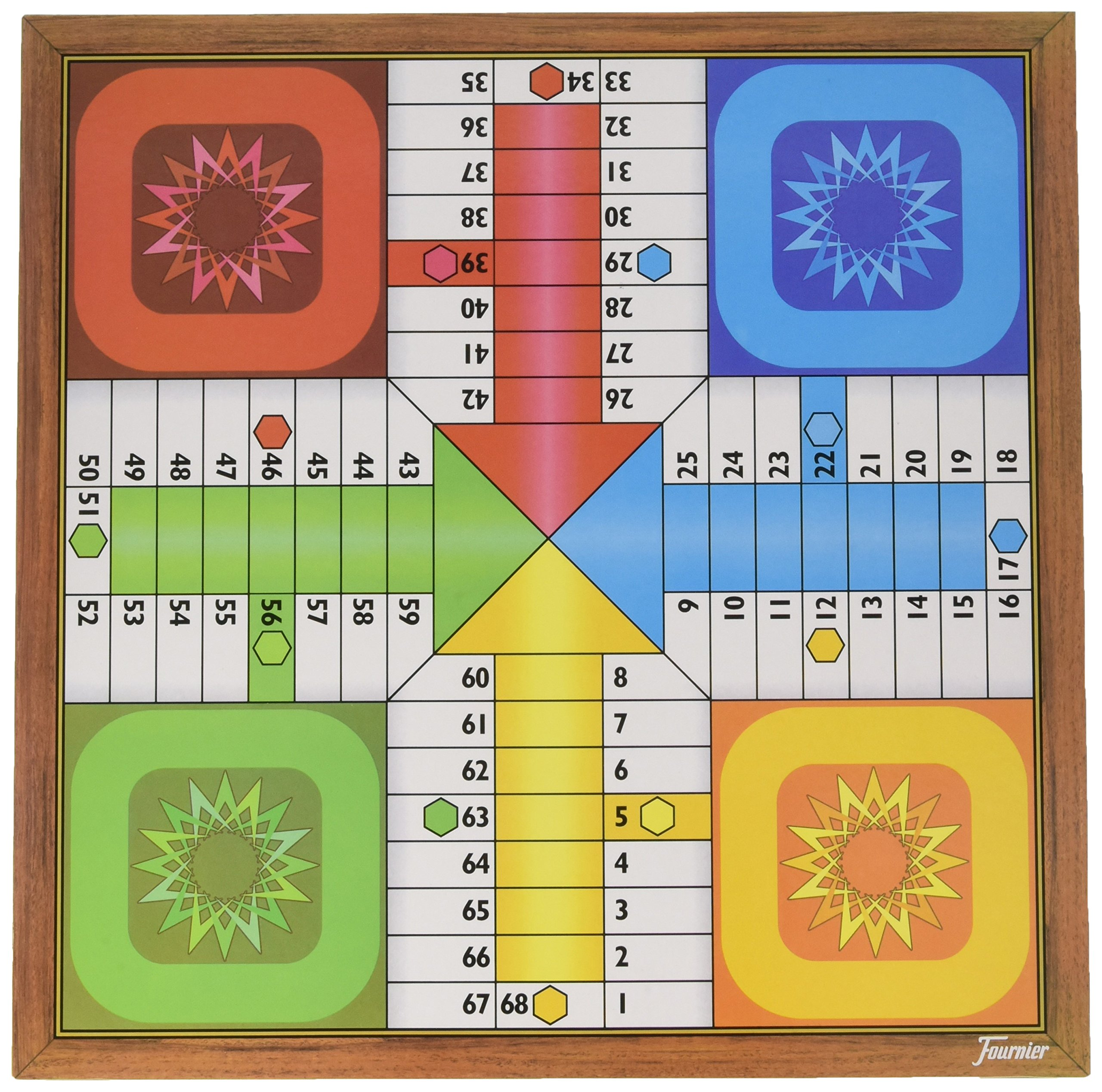 Comprar Fournier Parchis y Oca 33x33 cm Tablero, Multicolor, única (521111)