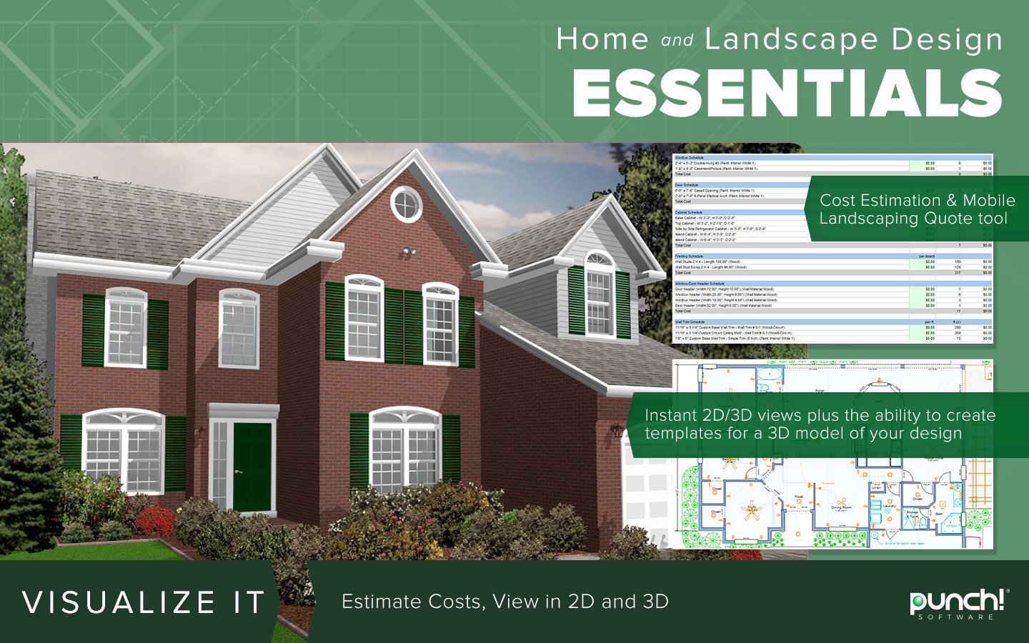 Home U0026 Landscape Design Essentials V20 [Download]: Software