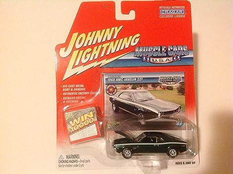 Amazon Com Johnny Lightning Muscle Cars Usa Matt Redel S 1968 Amc