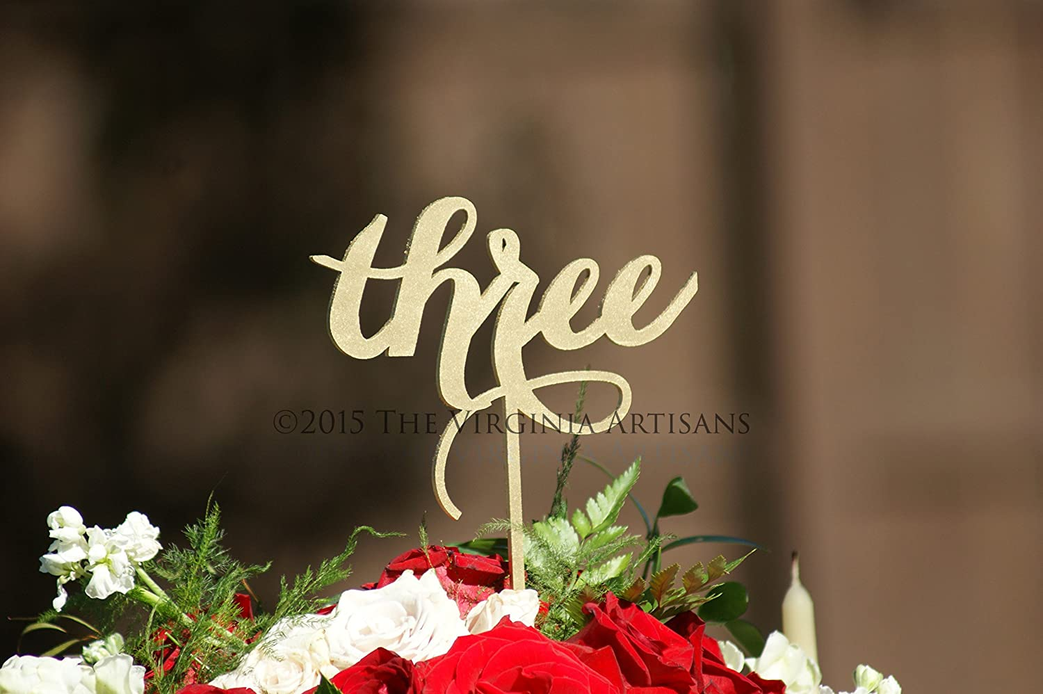 28 Table Numbers for Weddings, Anniversaries or any special event - Laser Cut