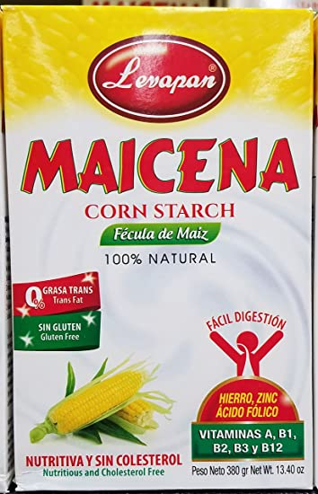 Levapan Maicena Corn Starch - 100% Natural - 0 Trans Fat Gluten Free 13.40 OZ