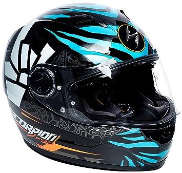 Scorpion Casco Moto exo-490.Rok, multicolor, talla XXL