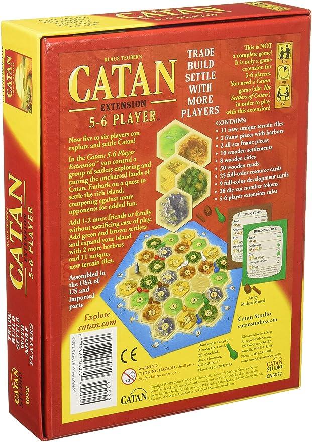 Mayfair Games Catan Expansion 5 to 6 Player Extension Board Game: Amazon.es: Juguetes y juegos