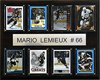 product image for NHL Mario Lemieux Pittsburgh Penguins 8 Card Plaque