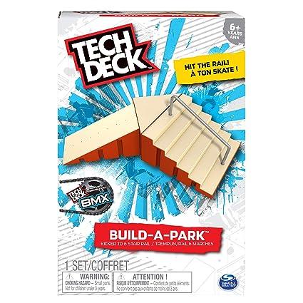 New Tech Deck BMX Skateboards Fingerboards SK8 Ramp Build-A-Park Set USA Seller