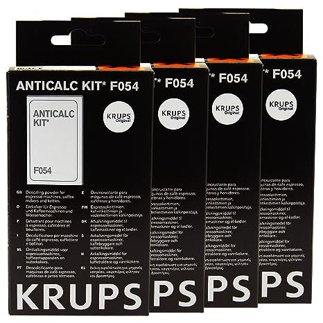 Krups Anti-cal Kit F054, Agente desincrustante Máquinas de café, Accesorios, 4