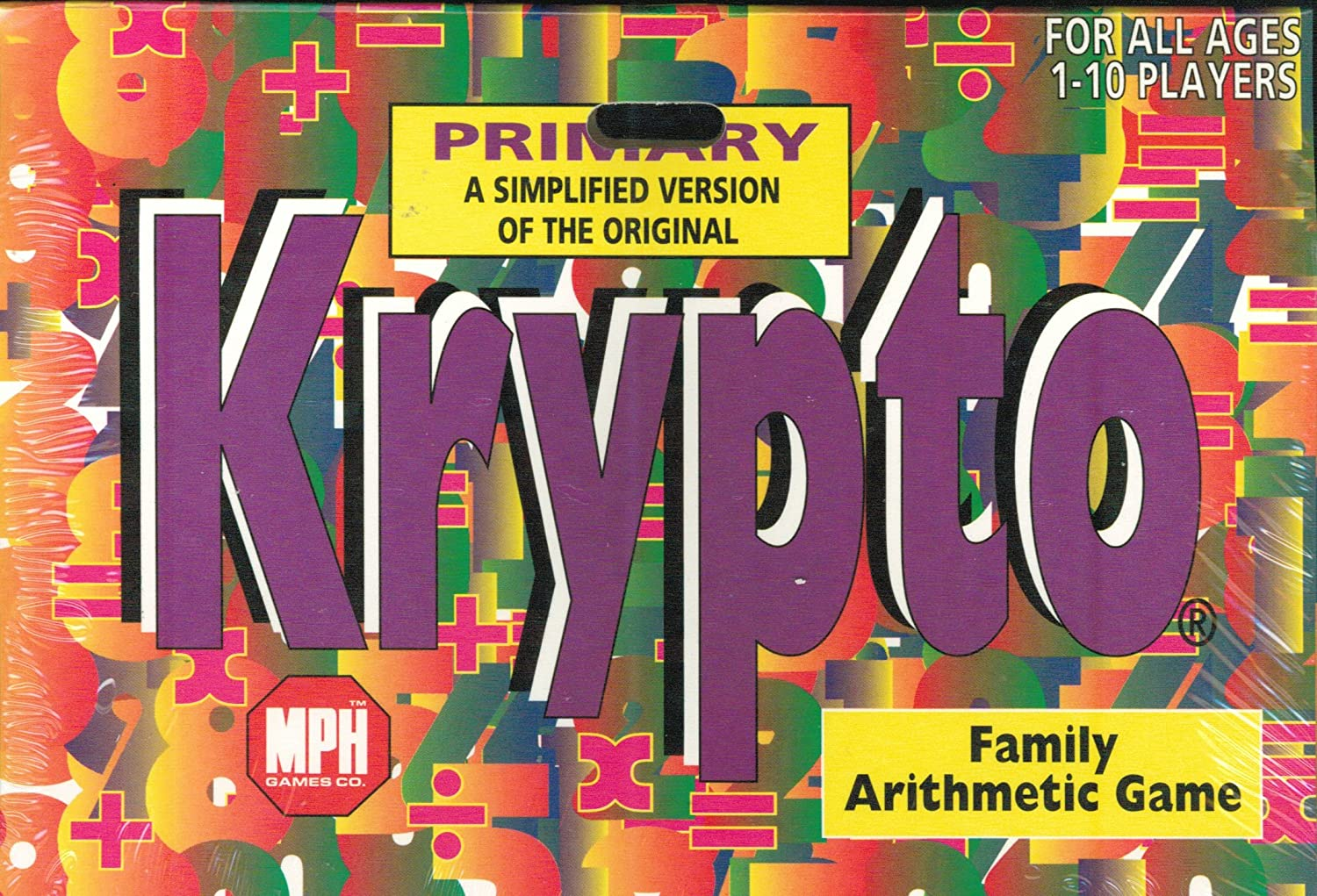 Amazon.com: Primary Krypto: Family Arithmetic Game by MPH Games ...