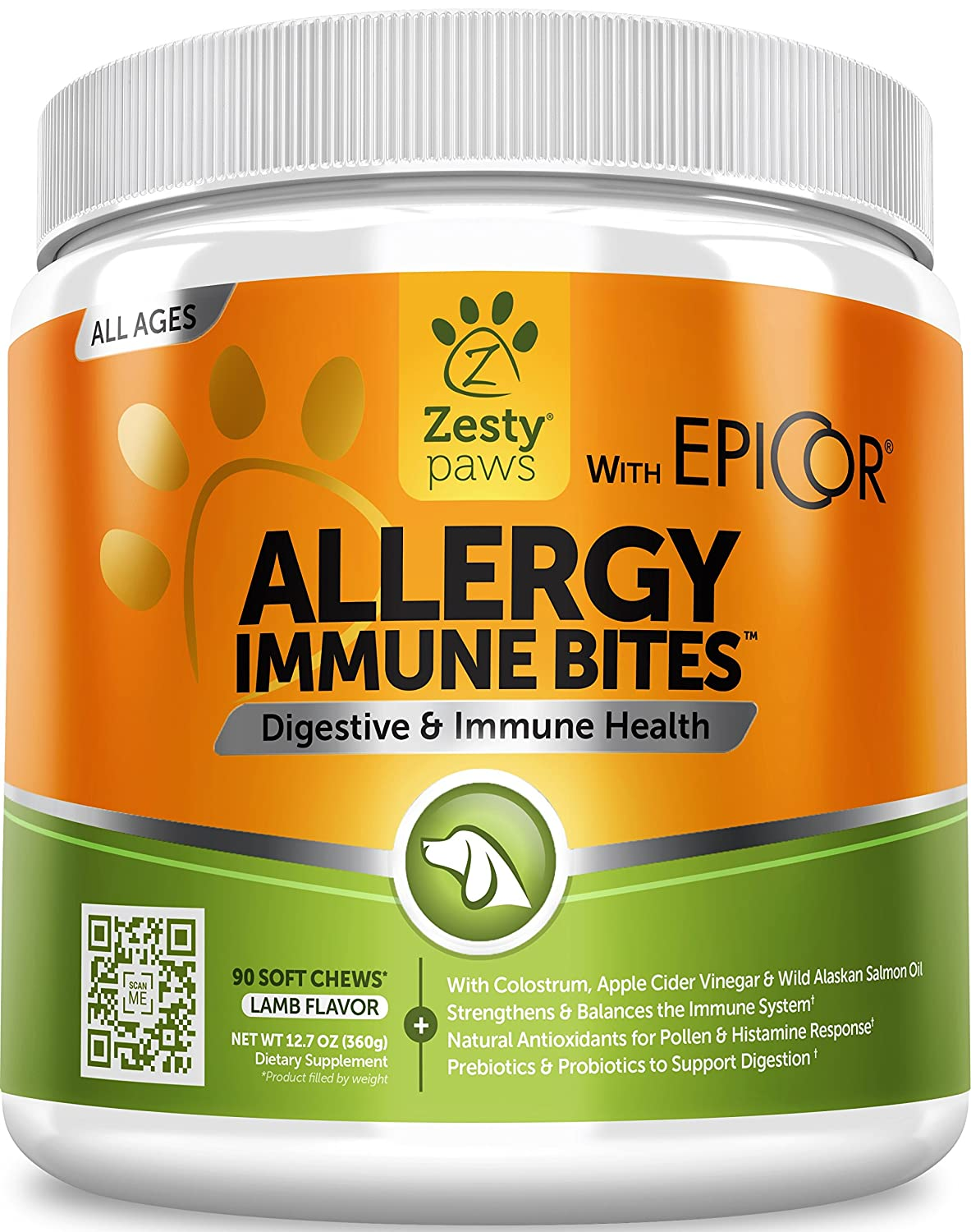 Allergy Immune Supplement for Dogs
