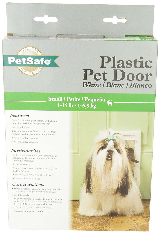 Amazon.com : RADIO SYSTEMS HPA11-10966 Pet Door, Small, White : Pet ...