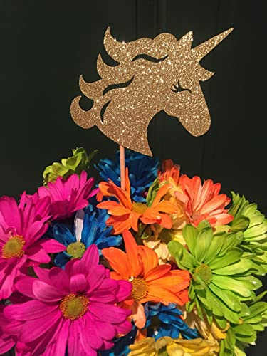 Image Unavailable Not Available For Color Unicorn Centerpieces Party