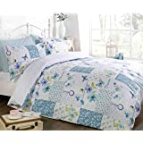 Art Dream Patchwork Duvet Cover Quilt Bedding Set, Multi-Colour, King