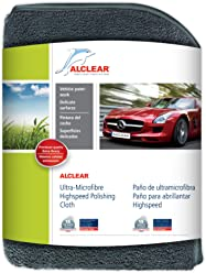 ALCLEAR 822203 Ultra-microfiber Cloth High-Speed for high glass polishing. Anthracite.
