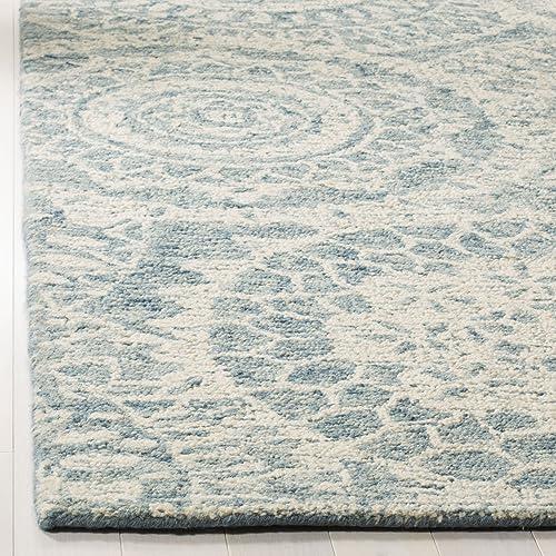 Safavieh ABT205A-5 Rug, 5 x 8 , Ivory Blue
