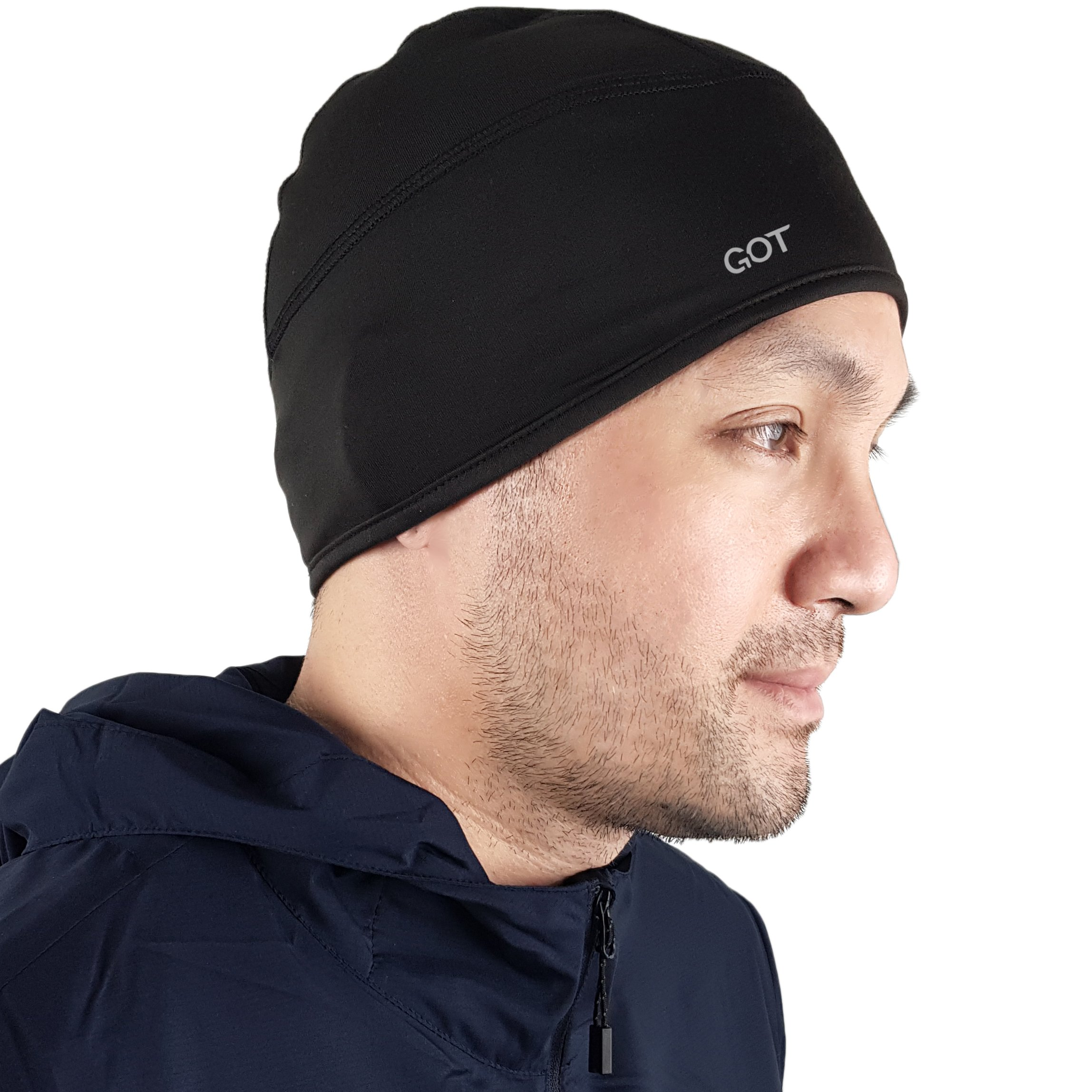 GOT Sports Skull Cap/Helmet Liner/Beanie for Running, Cycling, Motorcycle Riding, Skiing. Thermal Retention and Moisture Wicking Technology by GOT Sports