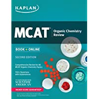 Kaplan MCAT Organic Chemistry Review: Book + Online