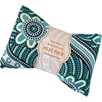 Microwavable Herbal Heat Pack With Removable Cover -Filled With Wheat And Tea Tree & Eucalyptus - Heat or Cold…