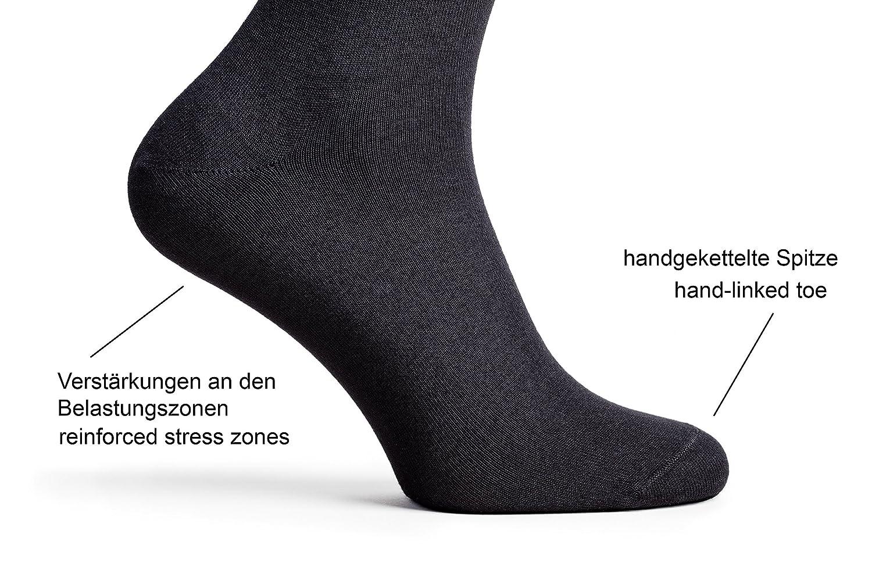 calcetines de ocio para mujeres y hombres 10 pares negro Greylags Calcetines de negocio