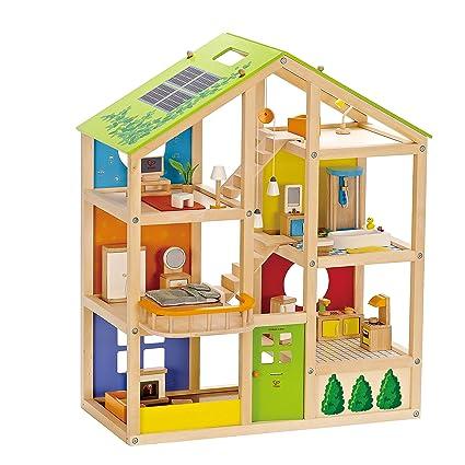 All Seasons Kids Wooden Dollhouse | Award Winning 3 Story Dolls House