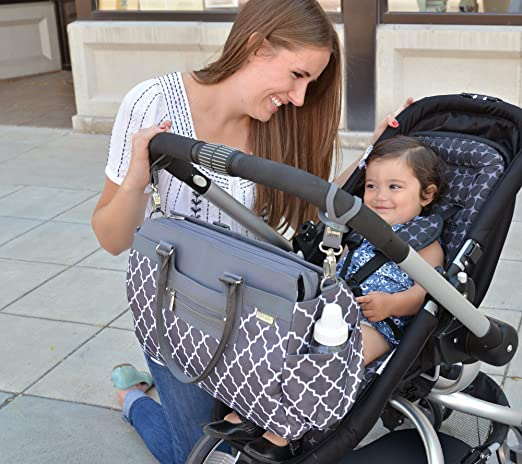 Best Stroller Accessories: diaper bag ideas