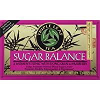 Triple Leaf Teas - Sugar Balance & Women's Tonic Tea, 20 bag