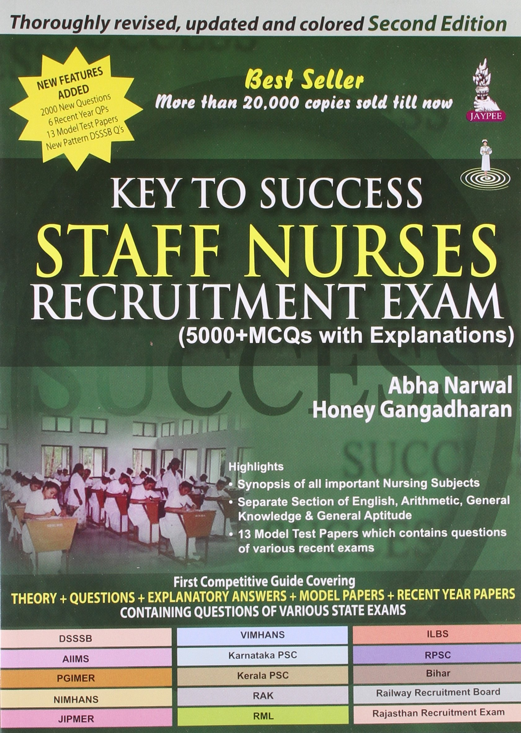 staff nurse recruitment exam questions and answers