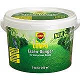 COMPO Eisen-Dünger, Staubfreies Feingranulat, 5 kg, 250 m²