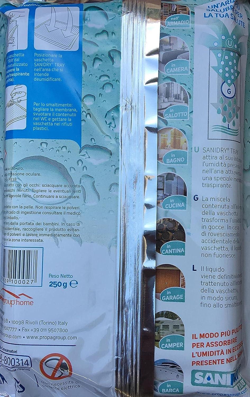 scantinati garage barche cassetti 10 vassoi di umidit/à SaniDry disidratanti per lutilizzo in armadi case caravan e qualsiasi altra area chiusa.