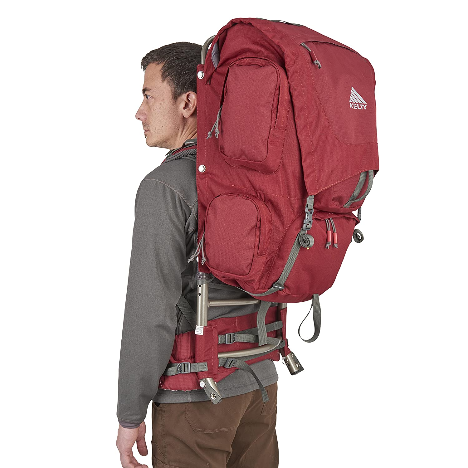 Kelty Trekker - 65 - Mochila, color rojo granate: Amazon.es ...