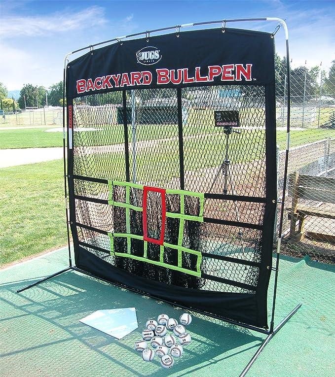 Amazon.com : Jugs Backyard Bullpen Package for Baseball : Sports & Outdoors