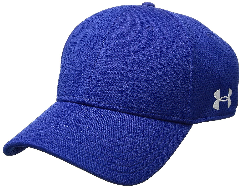 46400eb6952 Amazon.com  Under Armour Men s Curved Brim Stretch Fit Cap  Sports    Outdoors