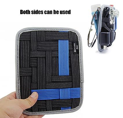 e995b7baf57a Admirable Idea Anti-slip Elastic Woven Board Organizer - Double Side Use |  Electronic Accessories Organizer