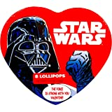 "Star Wars Valentines Gift Set Heart Shaped TIN ""I've GOT YOU in My Sights , Valentine!"" and ""The Force Is Strong with You Valentine"" (DARTH VADER)"