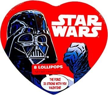 Star Wars Valentines Gift Set Heart Shaped TIN U0026quot;Iu0027ve GOT YOU In
