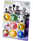 JOOLA FAN Balles de tennis de table Blister de 9 Multicolore