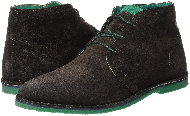 El Ganso Botín Alto Guerrero Ante Marrón - Zapatos de Cordones para Hombre, Color marrón, Talla 40: Amazon.es: Zapatos y complementos