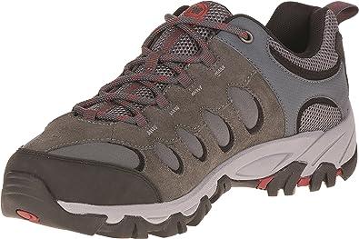 Merrell Ridgepass Bolt, Chaussures de Randonnée Basses Homme, Gris (Granite/Red Ochre), 43.5 EU