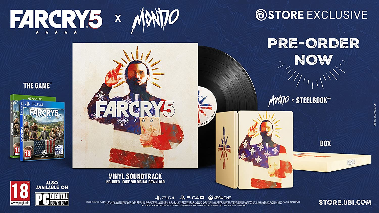Far Cry 5 - Mondo Edition: Amazon.es: Videojuegos