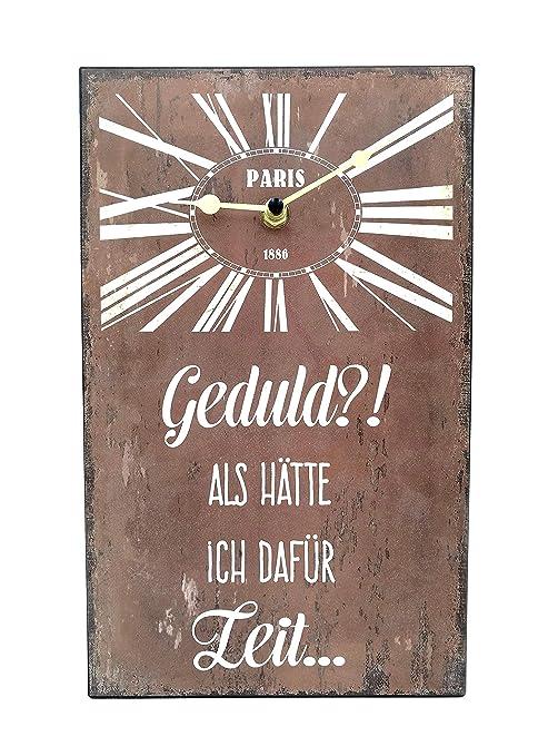 G.H. Grandes Reloj de Pared y Vintage Retro Cartel de Chapa ...
