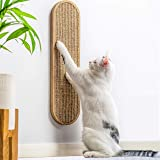 7 Ruby Road Cat Scratching Post for Floor or Wall Mounted Use - Space-Saving, Durable Sisal Board Scratcher for Kitty's…