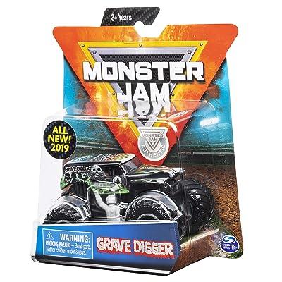 MJ 2020 Monster Jam Overcast Grave Digger: Toys & Games