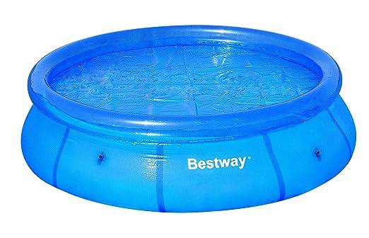 Bestway 8 Solar - Funda de natación, tamaño Ø210cm, color azul: Amazon.es: Deportes y aire libre