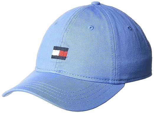 f5dfe0f4 Tommy Hilfiger Men's Dad Hat Ardin Cap Baseball, Bright Blue, One Size