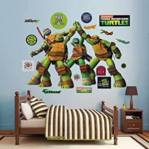 Fathead Teenage Mutant Ninja Turtles - High Five Wall Decal