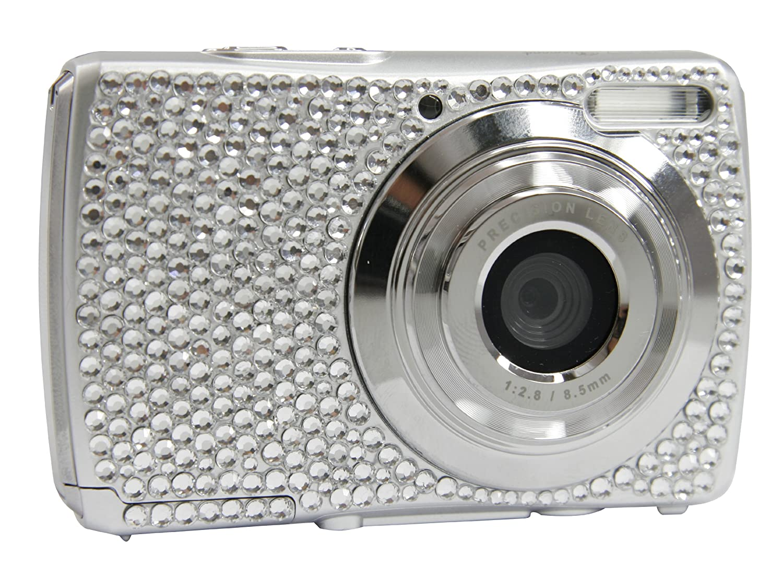 Cobra Digital DCAV527 12.0 Megapixel Diamond Digital Camera with 8x Optical Zoom - Black