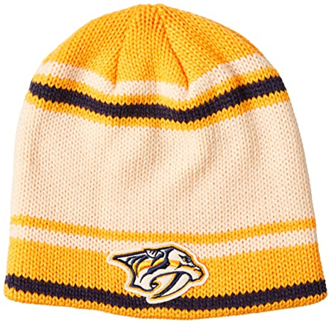 00f067f4 Buy NHL Nashville Predators Men's Face-Off Beanie Knit Cap, One Size, Puddy  Online at Low Prices in India - Amazon.in