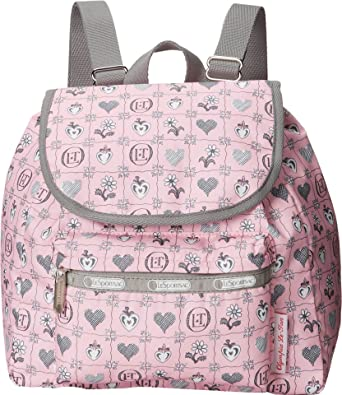 30397485977 LeSportsac Small Edie Backpack (Blooming Hearts)