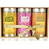 Happy Elephant Assorted Flavour Gift Box for Different Times & Moods of The Day 150 Tea Bags (225 Grams)
