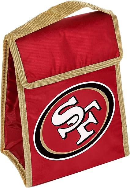 NFL Unisex Big Logo Flat Lunch Bag