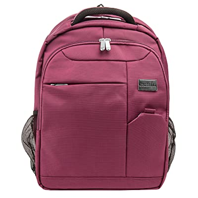 """best Plum Purple Germeni Backpack Carrying Case Sleeve for HP 13.3 to 15.6"""" Laptops"""